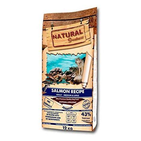 Receta de Salmón Sensitive - Natural Greatness