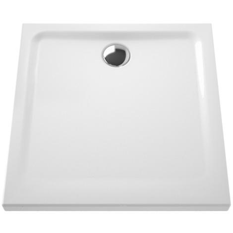 Receveur Ancoswing 2 - Anconetti - 80x80x5.5 à poser - Blanc