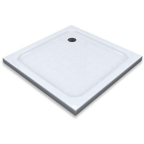 receveur bac douche plat antid rapant 90 x 90 cm blanc. Black Bedroom Furniture Sets. Home Design Ideas