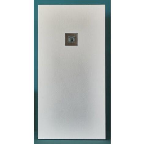 Receveur BASALTO Blanc 100x80cm