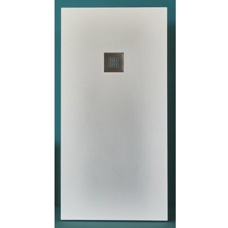 Receveur BASALTO Blanc 120x90cm*