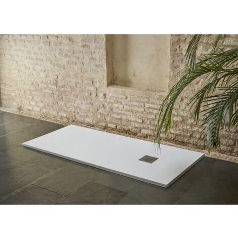Receveur BASALTO Blanc 140x80cm*