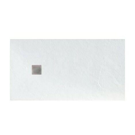 Receveur Beto - Ultra-plat - 100x80cm - Rectangulaire