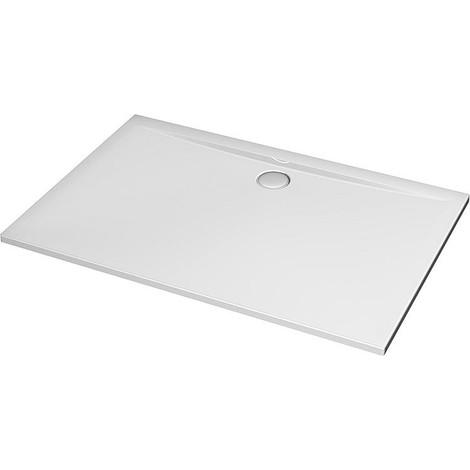 receveur caree Ultra plat en acryl. blanc LxlxH: 1700x900x47 mm