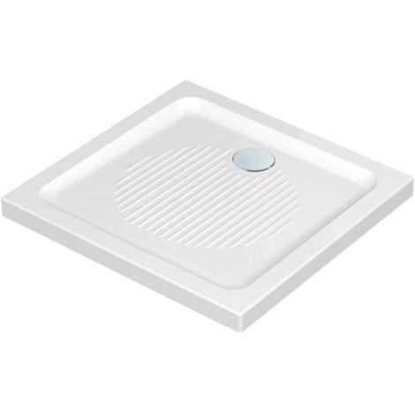 Receveur carré antidérapant à poser Connect Ideal Standard