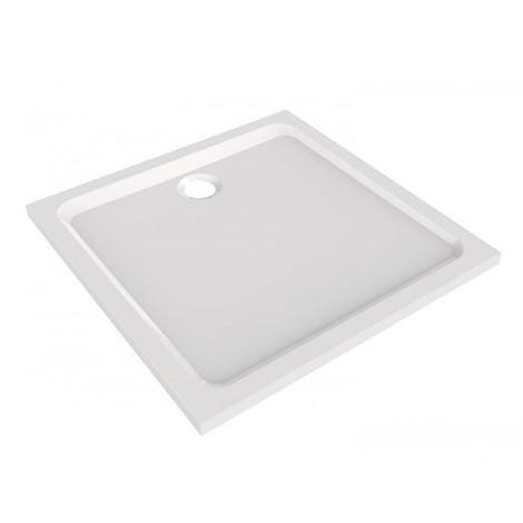 Receveur carré blanc Allia Prima Style marbrex