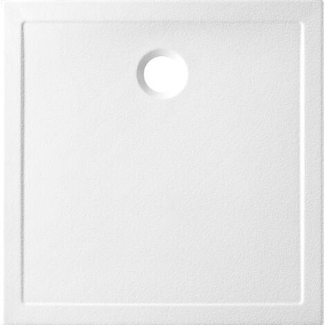 "main image of ""Receveur céramique Ancodesign - ep 3cm - blanc"""