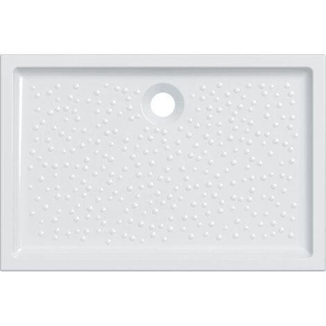 Receveur céramique GEBERIT Renova - 120 x 80 extra-plat à encastrer - 00737200000001