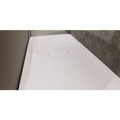 Receveur CUSTOM TOUCH Blanc Mat - Hauteur 3.5 cm - Plusieurs dimensions