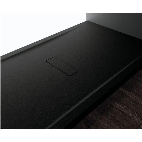 Receveur CUSTOM TOUCH Noir - Hauteur 3.5 cm - Plusieurs dimensions