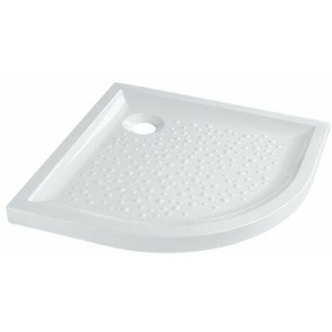 Receveur d'angle à poser PRIMA, 100 cm, extra-plat, céramique blanc Réf 00727200000