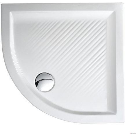 Plato de ducha cuarto de círculo