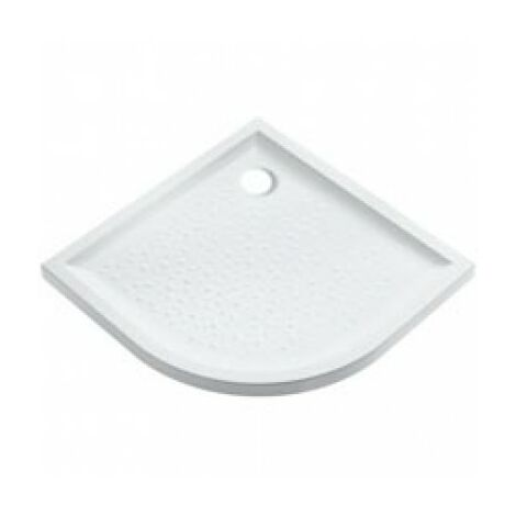 Receveur d'angle PRIMA 90 extra plat blanc