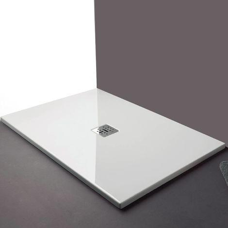receveur de douche 120x80 cm rectangulaire en c ramique. Black Bedroom Furniture Sets. Home Design Ideas