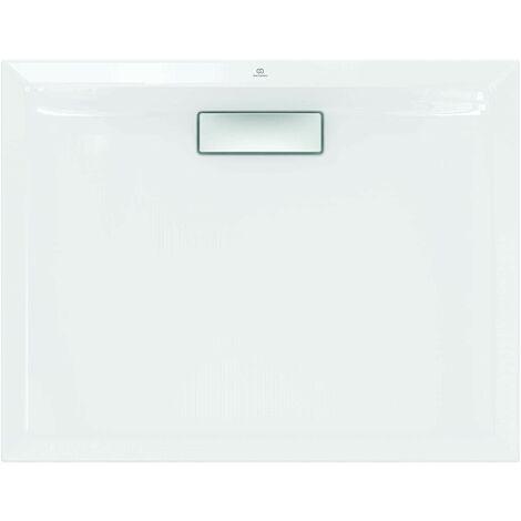 Receveur de douche 140X70 cm en acrylique Ideal Standard Ultra Flat New blanc sans drain | Blanc