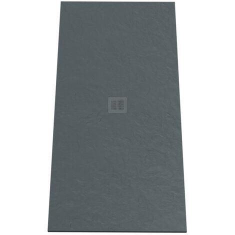 Receveur de douche 190x90 cm extra plat - gris anthracite - DIAMANT