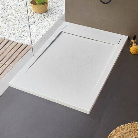 Receveur de douche New York - 100 x 70 cm - Blanc