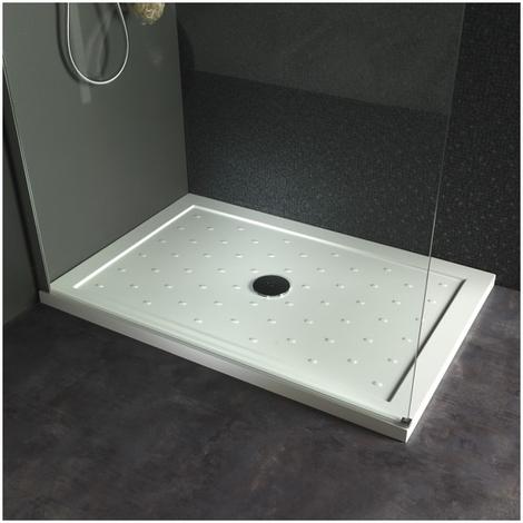 Receveur de douche 80x120 extra plat rectangulaire - Receveur de douche extra plat pas cher ...