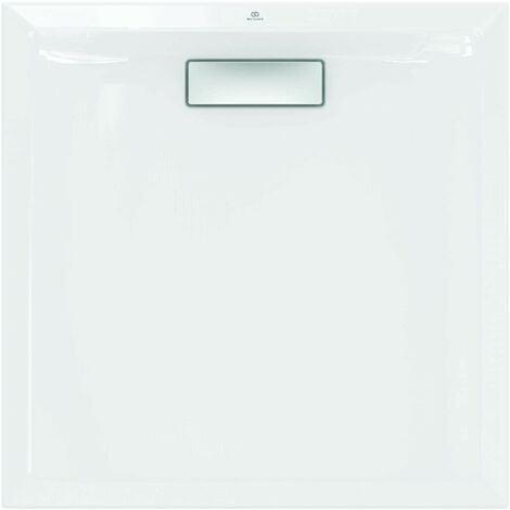 Receveur de douche 80X80 cm acrylique Ideal Standard Ultra Flat New blanc sans Drain | Blanc