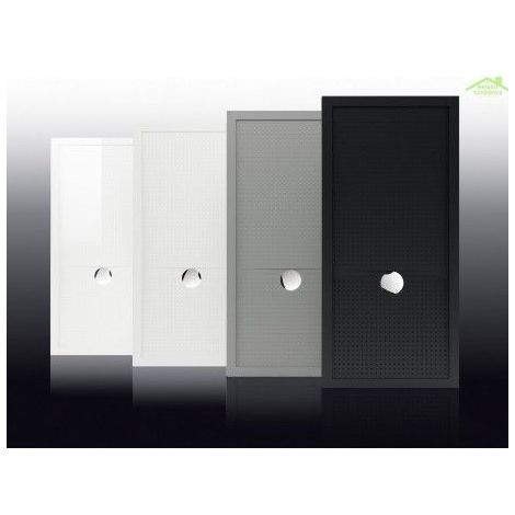 Receveur de douche à poser 12,5 cm blanc mat Novellini Olympic Plus
