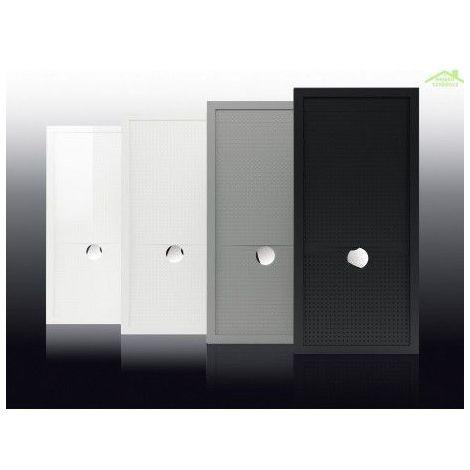Receveur de douche à poser 12,5 cm couleur gris Novellini Olympic Plus