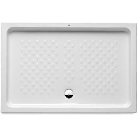 Receveur de douche à poser céramique ITALIA 1200 x 700 mm, blanc Réf A3740HR000