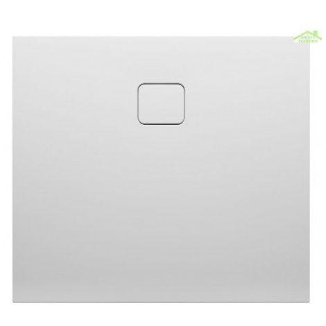 Receveur de douche acrylique carré RIHO BIASCA 430 100x100x4,5 cm avec pieds