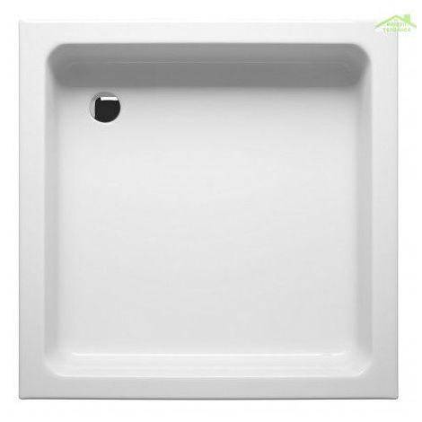 Receveur de douche acrylique carré RIHO SATURNUS 90x90x15,5 cm
