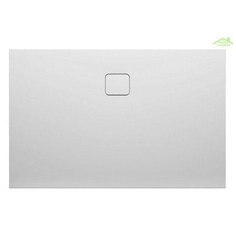 Receveur de douche acrylique rectangulaire RIHO BIASCA 404 100X80x4,5 cm avec pieds