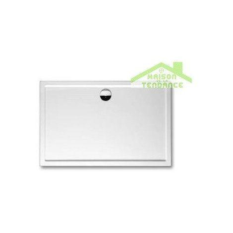 Receveur de douche acrylique rectangulaire RIHO DAVOS 263 130x90x4,5 cm - Avec siphon