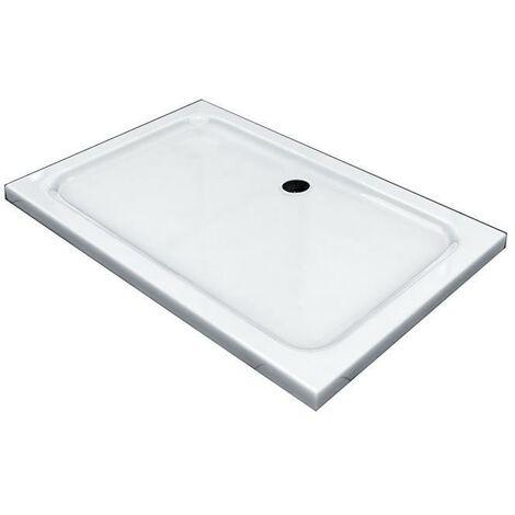 Receveur de douche, baignoire en acrylique pour salle de bains, 5cm ultra plat