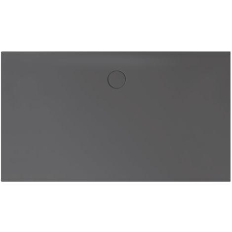 Receveur de douche Bette Floor Side Shower Tray avec Anti-Slip Pro 3389, 150x100cm, Coloris: graphites - 3389-404AE