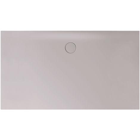 Receveur de douche Bette Floor Side Shower Tray avec Anti-Slip Pro 3396, 110x90cm, Coloris: argentés - 3396-410AE