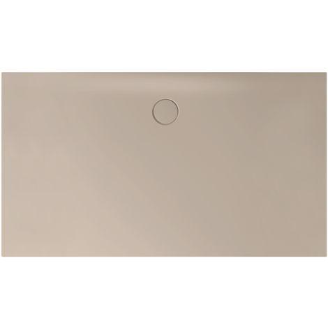 Receveur de douche Bette Floor Side Shower Tray avec Anti-Slip Pro 3396, 110x90cm, Coloris: beige - 3396-422AE