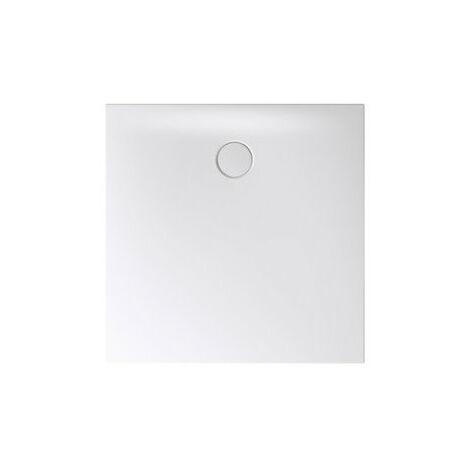 Receveur de douche Bette Floor Side Shower Tray avec Anti-Slip Pro 3396, 110x90cm, Coloris: corbeau - 3396-400AE