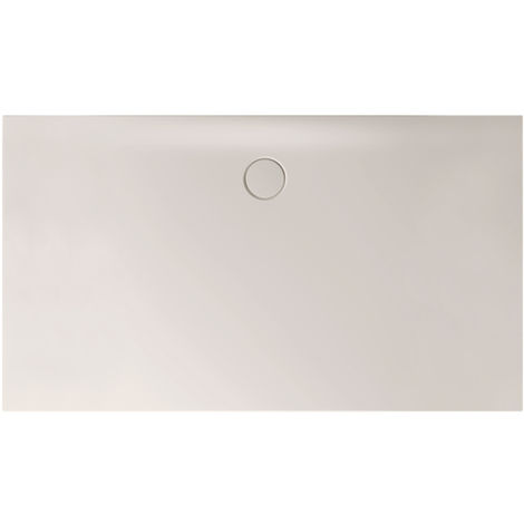 Receveur de douche Bette Floor Side Shower Tray avec Anti-Slip Pro 3396, 110x90cm, Coloris: crème - 3396-441AE
