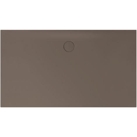 Receveur de douche Bette Floor Side Shower Tray avec Anti-Slip Pro 3396, 110x90cm, Coloris: Décor Taupe - 3396-438AE