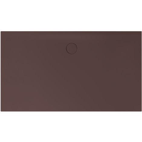 Receveur de douche Bette Floor Side Shower Tray avec Anti-Slip Pro 3396, 110x90cm, Coloris: Ebano - 3396-434AE