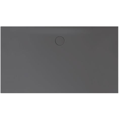 Receveur de douche Bette Floor Side Shower Tray avec Anti-Slip Pro 3396, 110x90cm, Coloris: graphites - 3396-404AE
