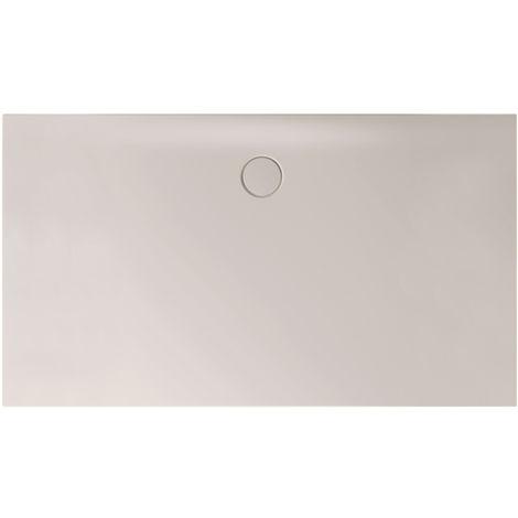 Receveur de douche Bette Floor Side Shower Tray avec Anti-Slip Pro 3396, 110x90cm, Coloris: lin - 3396-423AE