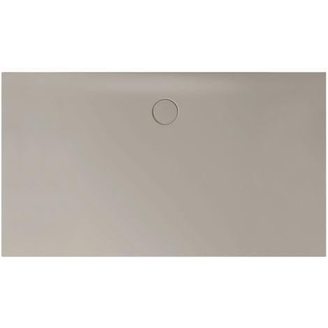 Receveur de douche Bette Floor Side Shower Tray avec Anti-Slip Pro 3396, 110x90cm, Coloris: pierre à feu - 3396-414AE