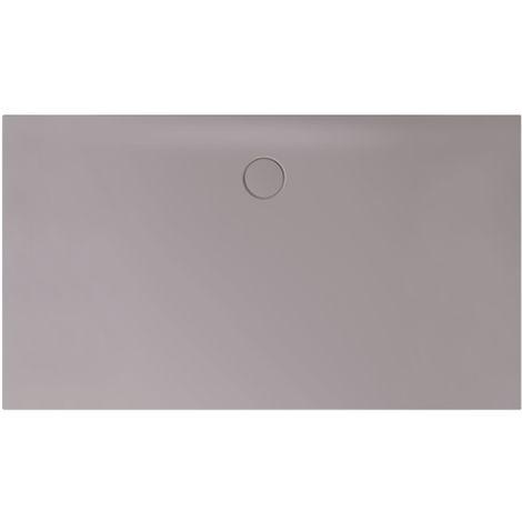 Receveur de douche Bette Floor Side Shower Tray avec Anti-Slip Pro 3396, 110x90cm, Coloris: quartz - 3396-412AE