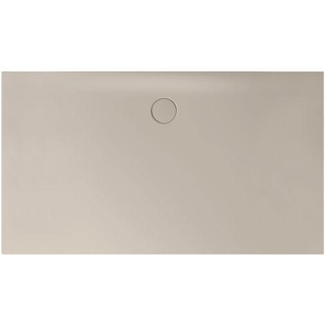 Receveur de douche Bette Floor Side Shower Tray avec Anti-Slip Pro 3396, 110x90cm, Coloris: sabler - 3396-424AE