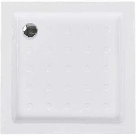 Receveur de douche blanc 90 x 90 x 7 cm ESTELI