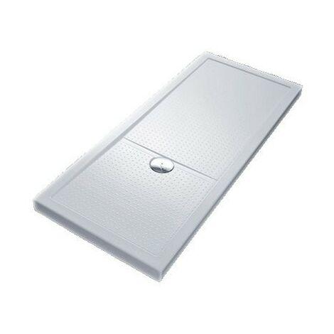 Receveur de douche blanc Olympic Plus : 120X70 cm