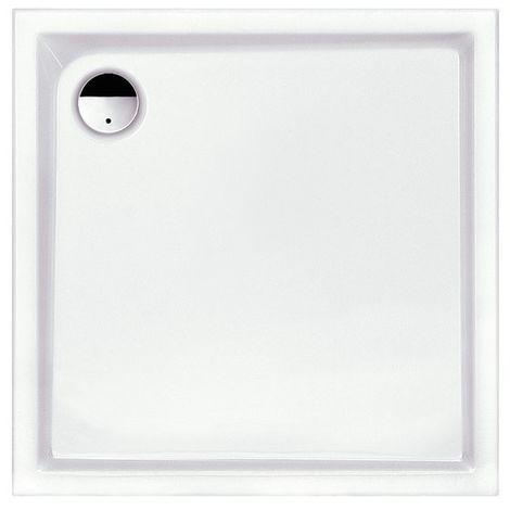 Receveur de douche carré à poser Slam Leda Dim. (cm) 80 x 80 x 6