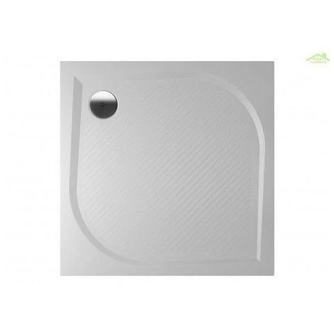 Receveur de douche carré en marbre RIHO KOLPING DB20 80x80x3cm - Avec tablier