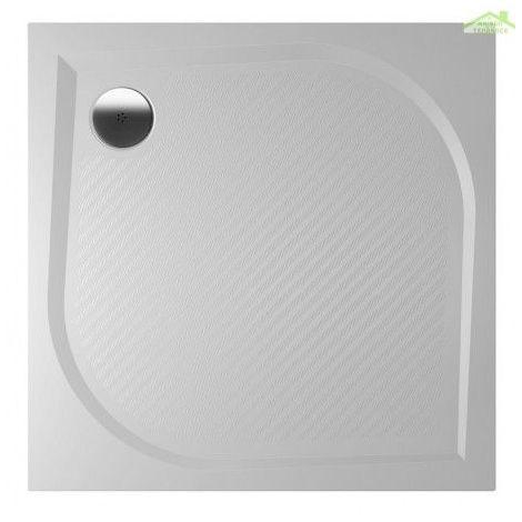 Receveur de douche carré en marbre RIHO KOLPING DB21 90x90x3cm - Sans tablier