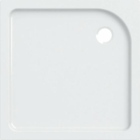 Receveur de douche carré Geberit Tala, brillant / blanc, 90 x 90 cm - 662490000
