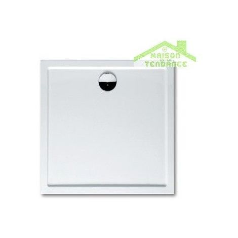 Receveur de douche carré RIHO DAVOS 261 100x100x4,5cm, avec pieds et tablier